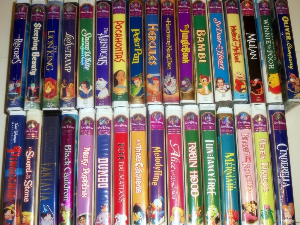 Those Old VHS Disney Tapes Could Be Really Valuable – Check Your Garage