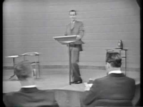 Kennedy vs. Nixon – 1st 1960 Debate