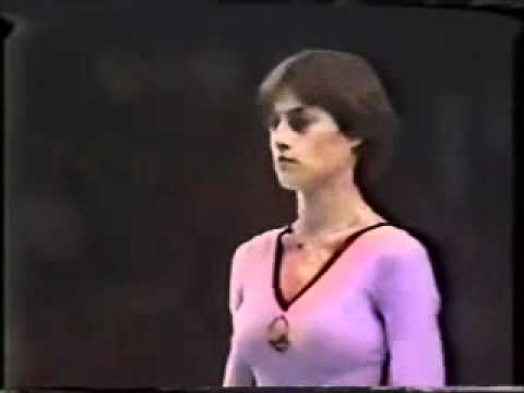 Nadia Comaneci Olympic Vaults 1976 and 1980
