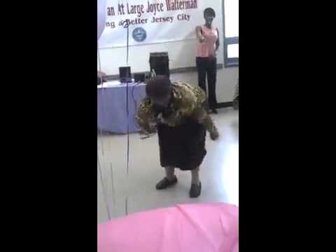 funny Senior Center TWERK