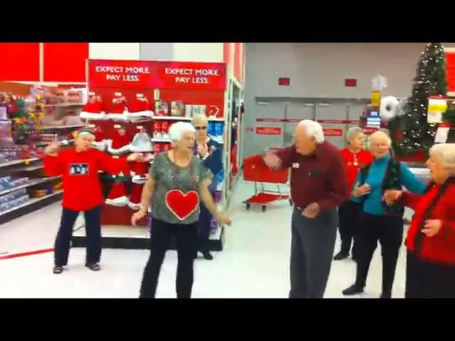 Funny Senior Citizen Flash Mob – Lawrence,KS – Meadowlark Estates