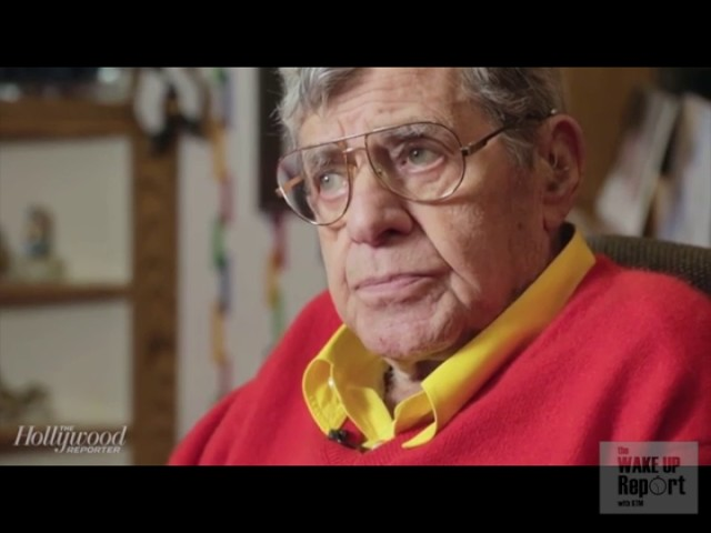 Jerry Lewis Breaks Reporter's Balls With Awkward Interview!